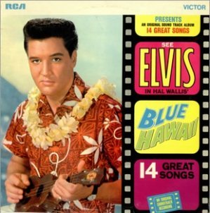 Elvis Presley Blue Hawaii LP