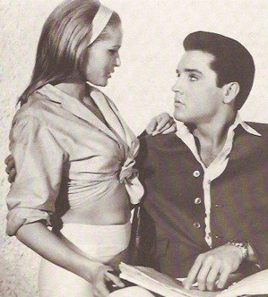 Elvis Presley and Ursula Andress