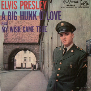 Elvis Presley Big Hunk of Love sleeve
