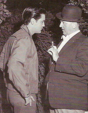 Elvis Presley and Colonel Parker