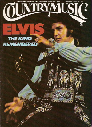 Elvis Presley Country Music magazine