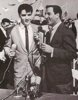 Elvis Presley and Danny Thomas