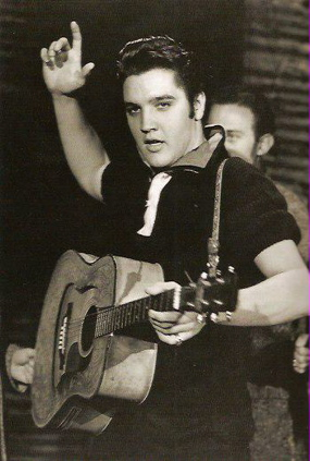 Elvis Presley on Ed Sullivan Show