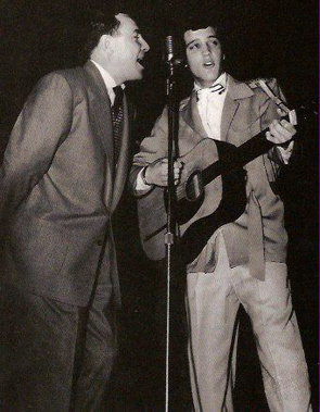 Elvis Presley and Dewey Phillips