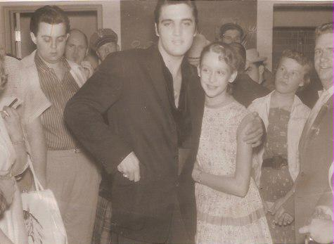 Elvis Presley in Spokane 1957