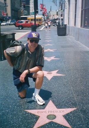 Elvis Presley star on Hollywood Walk of Fame
