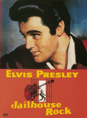 Elvis Presley in Jailhouse Rock poster
