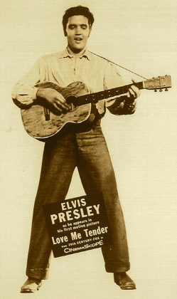 Elvis Presley in Love Me Tender