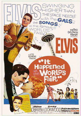Seattle World's Fair Elvis poster