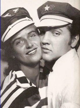 Elvis Presley and June Juanico