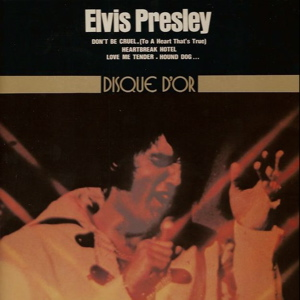 Elvis Presley French LP cover