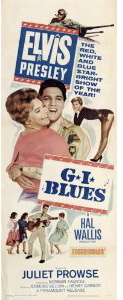 Elvis Presley GI Blues poster
