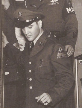 Elvis Presley in army in Germany 1958