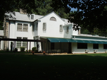 Graceland, Elvis Presley's home, rear view
