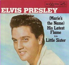 Elvis Presley Little Sister sleeve