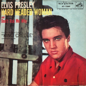 Elvis Presley Hard Headed Woman sleeve
