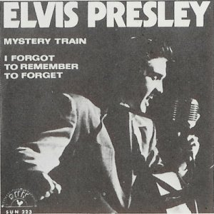Elvis Presley I Forgot to Remember sleeve