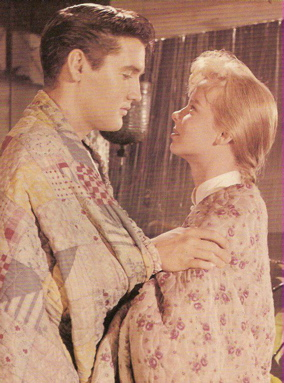 Elvis Presley and Laurel Goodwin