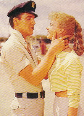 Elvis Presley and Laurel Goodwin