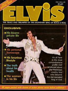 Elvis magazine cover