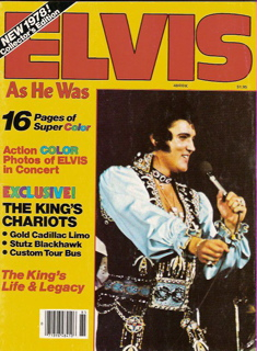 Elvis magazine cover