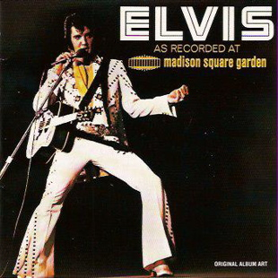 Elvis Presley Madison Square Garden LP