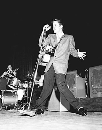 Elvis Presley Oakland 1956