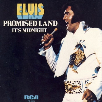 Elvis Presley Promised Land sleeve
