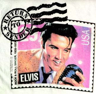 Return to Sender Elvis stamp