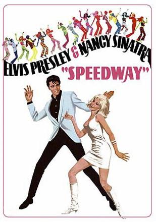 Elvis Presley Speedway poster