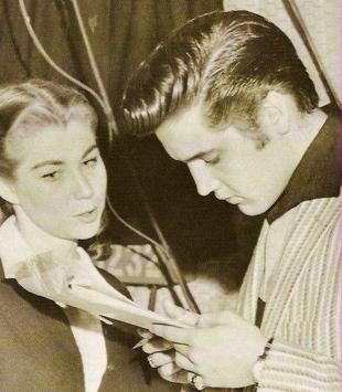 Elvis Presley and Judy Spreckels