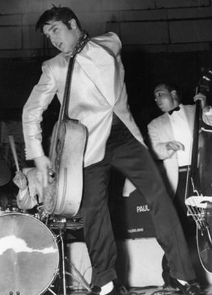 Elvis in Toledo 1956