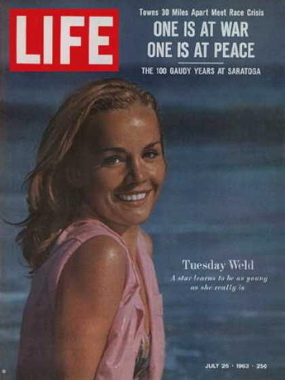 Tuesday Weld Life Magazine cover