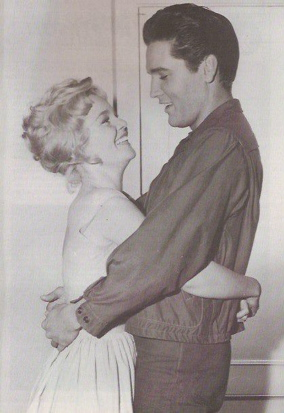 Tuesday Weld and Elvis Presley