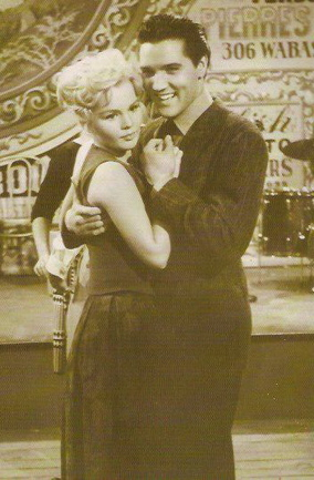 Elvis Presley and Tuesday Weld