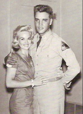 Elvis Presley and Anita Wood