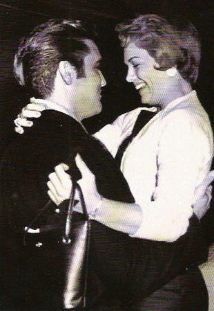 Elvis Presley and Anita Wood