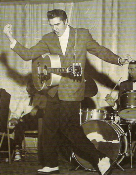 Elvis Presley on the Louisiana Hayride