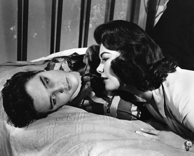 Elvis Presley and Judy Tyler