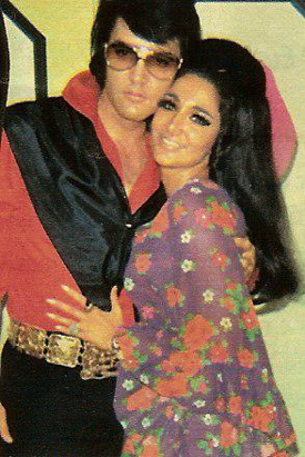 Elvis Presley and Joyce Bova