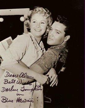 Elvis Presley and Darlene Thompkins