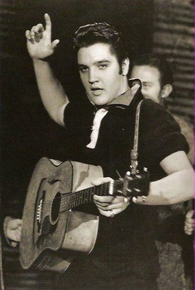 Image result for elvis presley appears on the ed sullivan show for the first time