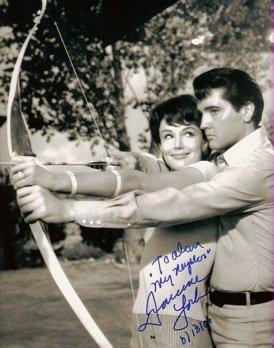 Elvis Presley and Francine York