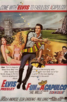 Elvis Presley Fun in Acapulco poster
