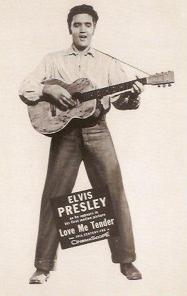 Elvis Presley in Love Me Tender